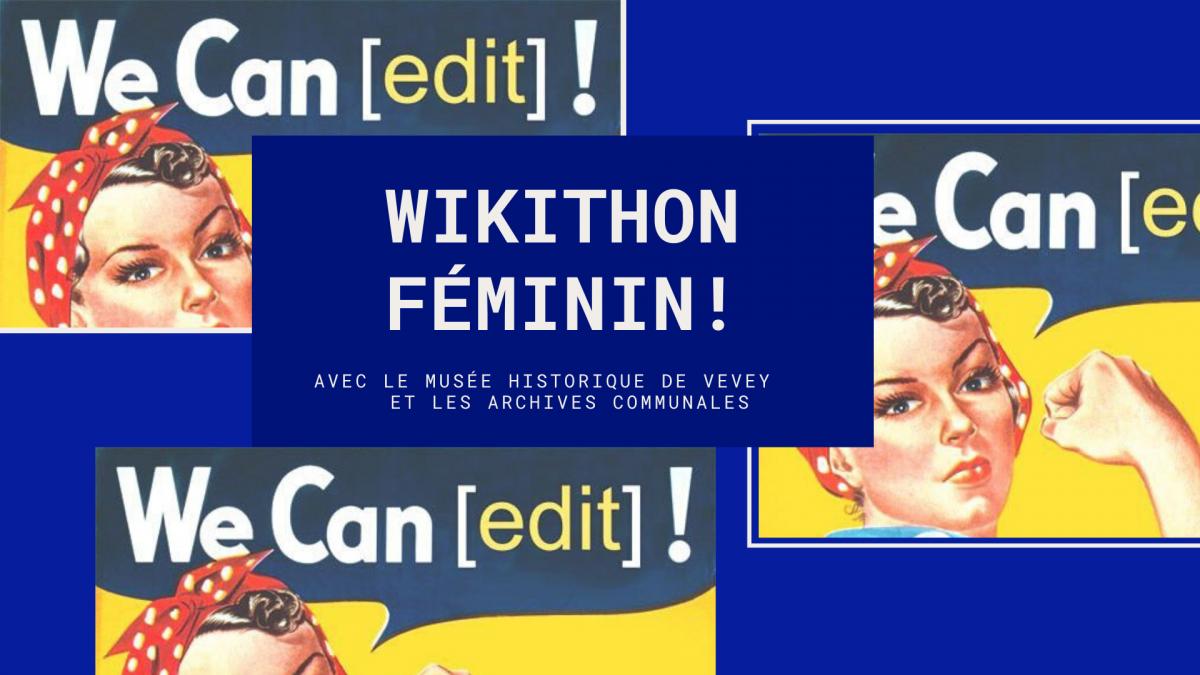 Wikithon féminin !